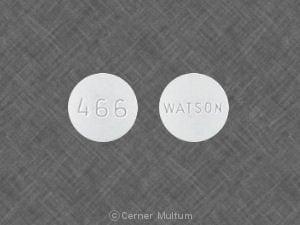 Imprint WATSON 466 - tramadol 50 mg