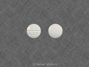 Image 1 - Imprint SL 433 - trazodone 50 mg