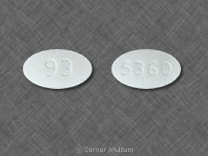 Imprint 93 5360 - ursodiol 250 mg