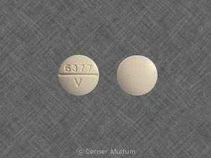 Image 1 - Imprint 6377 V - yohimbine 5.4 mg