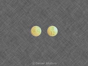Imprint LL B 12 - Ziac 2.5 mg / 6.25 mg