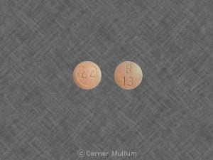 Imprint LL B 13 - Ziac 5 mg / 6.25 mg