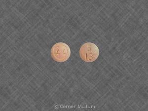 Image 1 - Imprint LL B 13 - Ziac 5 mg / 6.25 mg