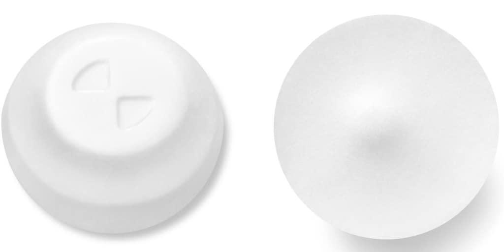 Imprint Logo - Nurtec ODT 75 mg