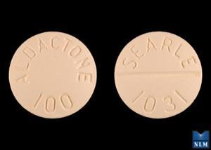 Imprint ALDACTONE 100 SEARLE 1031 - Aldactone 100 mg