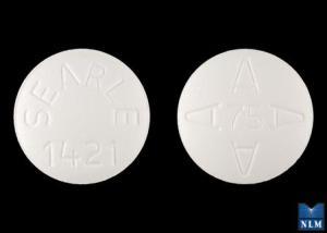 Imprint SEARLE 1421 AAAA 75 - Arthrotec 75 mg / 200 mcg