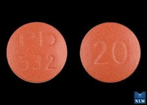 Image 3 - Imprint PD 532 20 - Accupril 20 mg