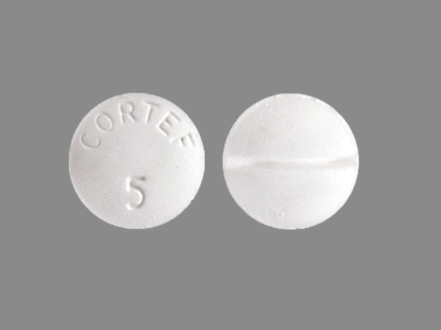 Imprint CORTEF 5 - Cortef 5 mg
