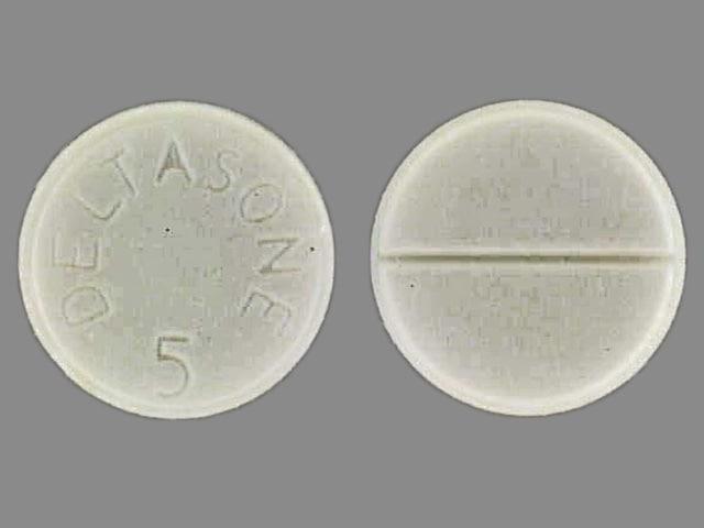 Image 1 - Imprint DELTASONE 5 - Deltasone 5 mg