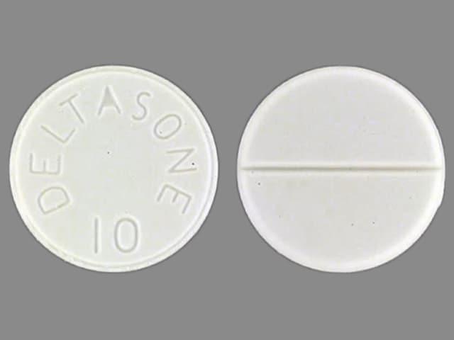 Image 1 - Imprint DELTASONE 10 - Deltasone 10 mg