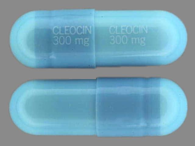 Image 1 - Imprint CLEOCIN 300 mg CLEOCIN 300 mg - Cleocin HCl 300 mg
