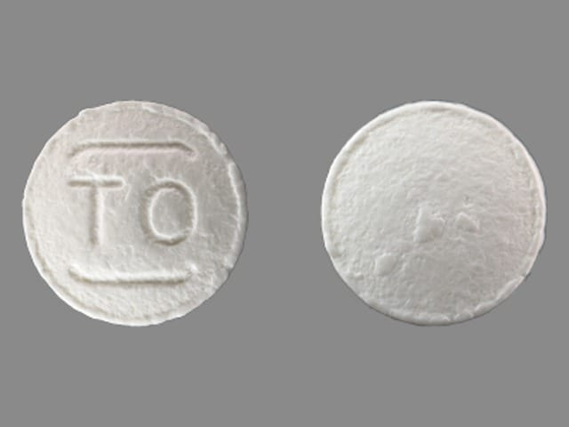 Imprint TO - Detrol 1 mg
