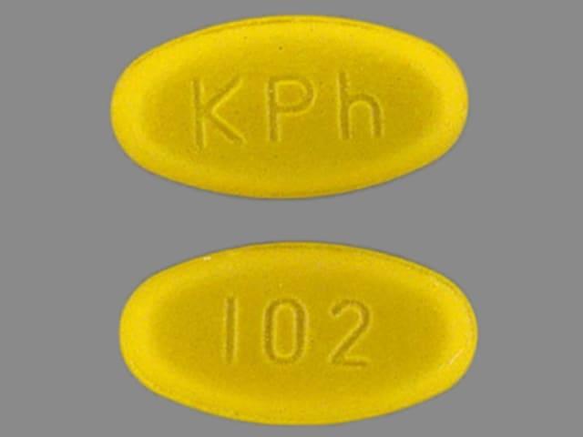 Image 1 - Imprint KPh 102 - Azulfidine EN-tabs 500 mg