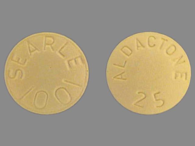 Imprint ALDACTONE 25 SEARLE 1001 - Aldactone 25 mg