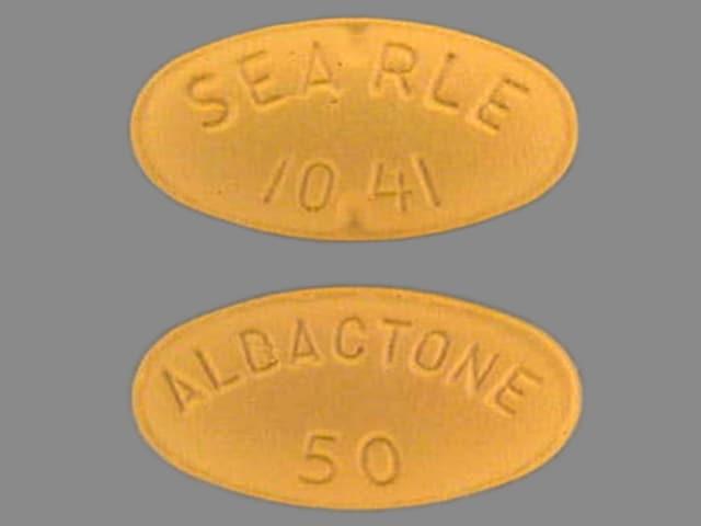Imprint ALDACTONE 50 SEARLE 1041 - Aldactone 50 mg