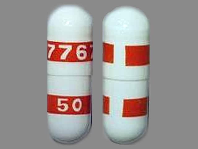 Imprint 7767 50 - Celebrex 50 mg