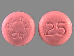 Imprint PAXIL CR 25 - Paxil CR 25 mg