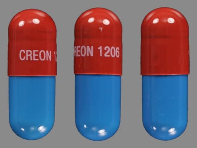 Imprint CREON 1206 - Creon 30,000 units amylase / 6,000 units lipase / 19,000 units protease