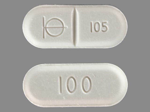 Imprint Logo 105 100 - Demadex 100 mg