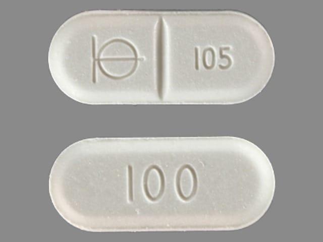Imprint Logo 105 100 - Demadex 100 mg