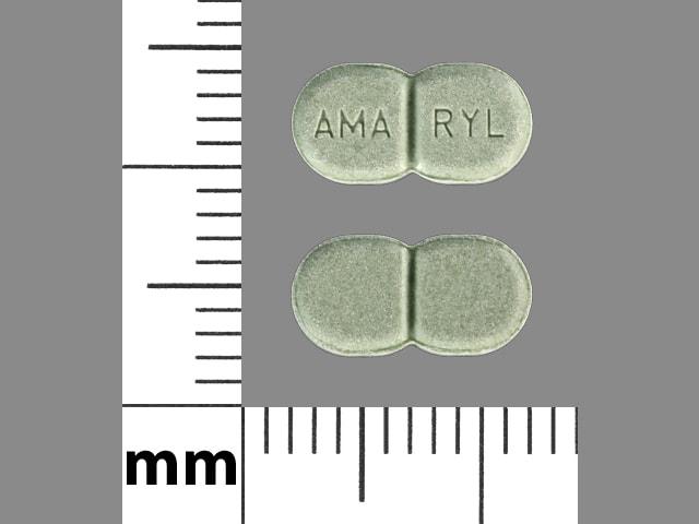 Imprint AMA RYL - Amaryl 2 mg