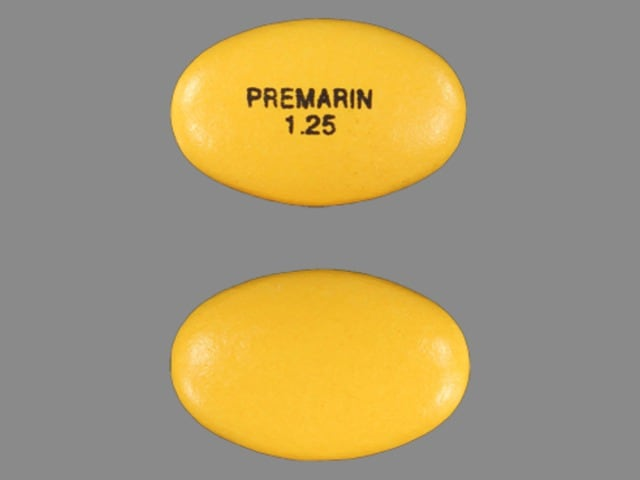 Image 1 - Imprint PREMARIN 1.25 - Premarin 1.25 mg