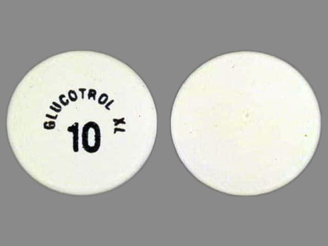 Imprint GLUCOTROL XL 10 - Glucotrol XL 10 mg
