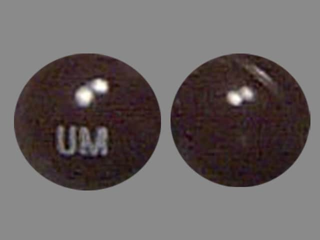 Imprint UM - Marinol 5 mg