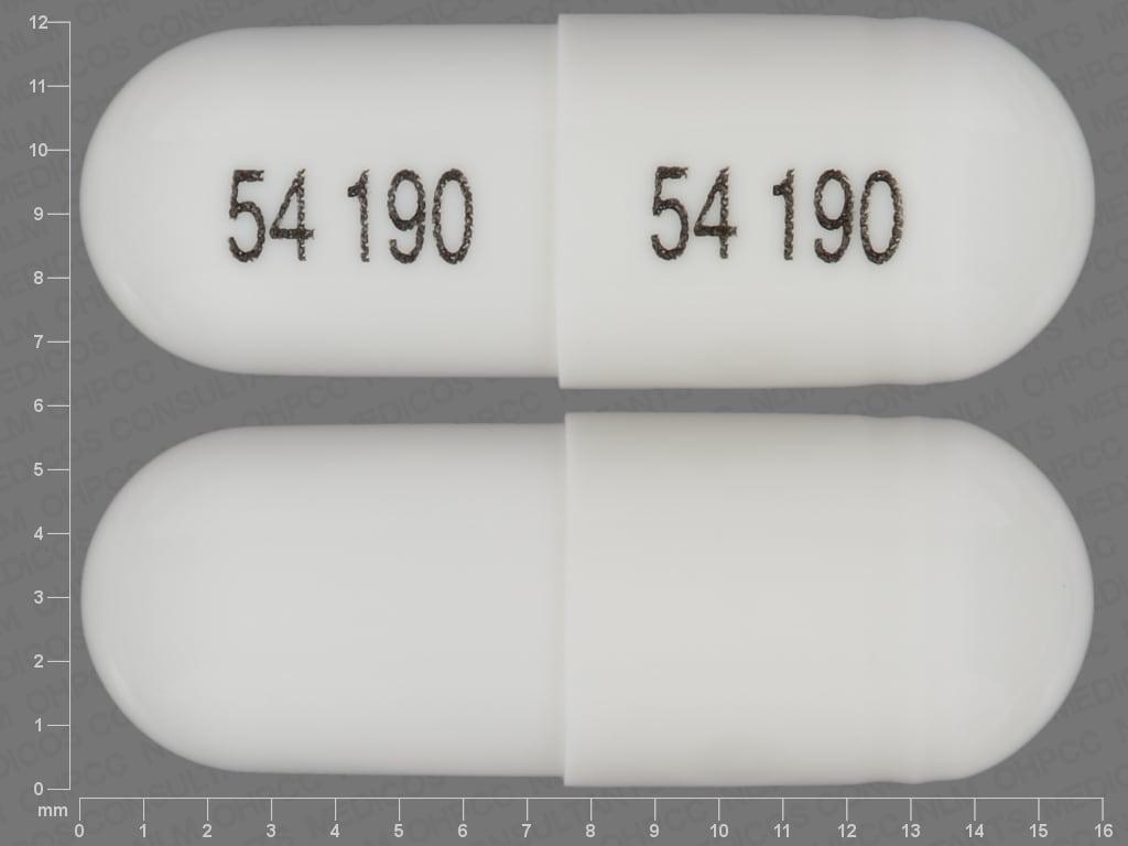 Imprint 54 190 54 190 - cevimeline 30 mg
