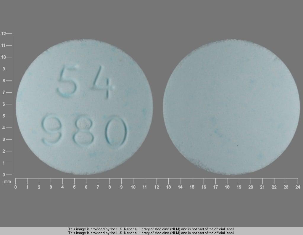 Imprint 54 980 - cyclophosphamide 50 mg