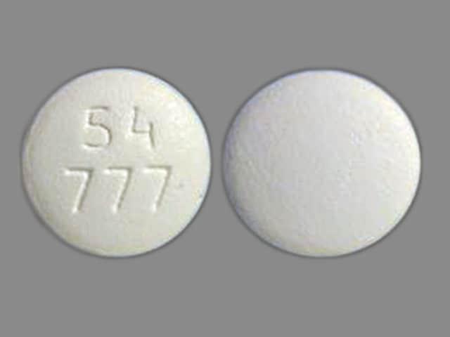 Imprint 54 777 - zidovudine 300 mg