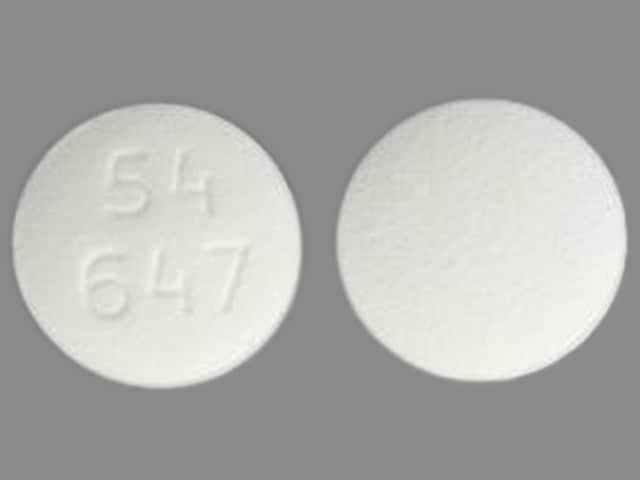 Imprint 54 647 - pilocarpine 5 mg