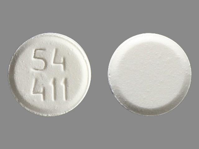 Imprint 54 411 - buprenorphine 8 mg
