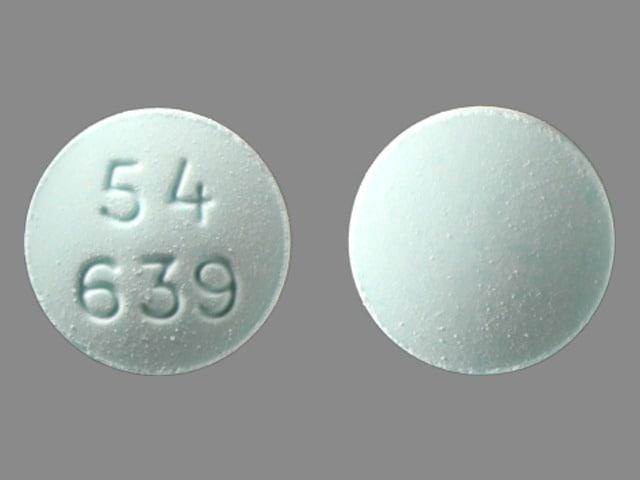 Imprint 54 639 - cyclophosphamide 25 mg