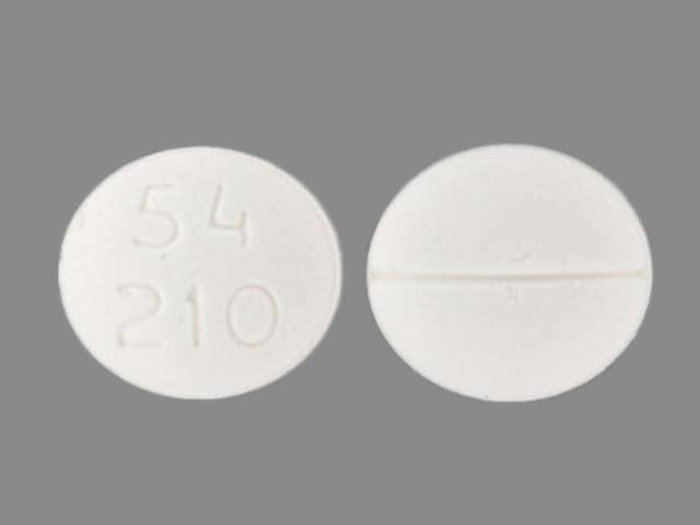 Imprint 54 210 - methadone 5 mg