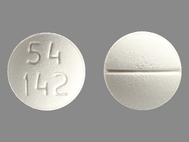 Imprint 54 142 - methadone 10 mg