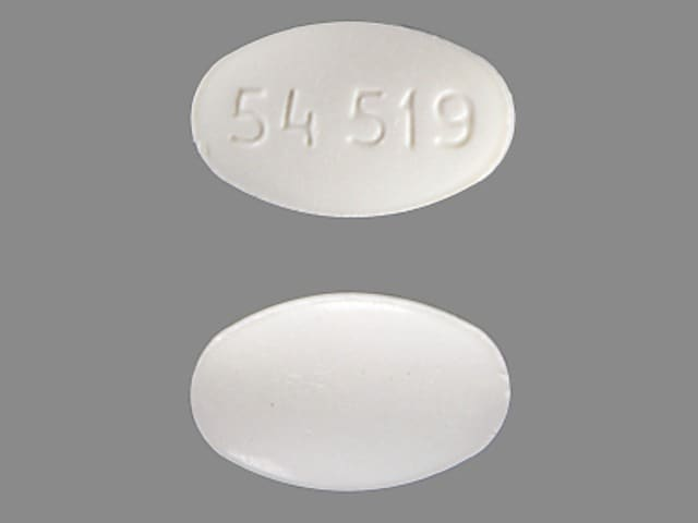 Imprint 54 519 - triazolam 0.125 mg
