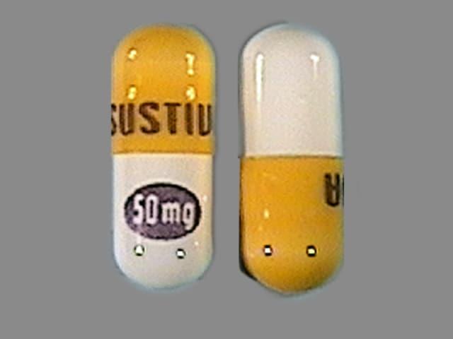 Imprint SUSTIVA 50 mg - Sustiva 50 mg