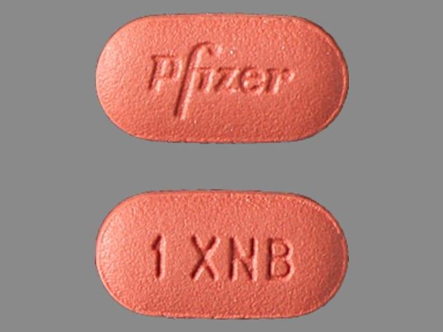 Imprint Pfizer 1 XNB - Inlyta 1 mg