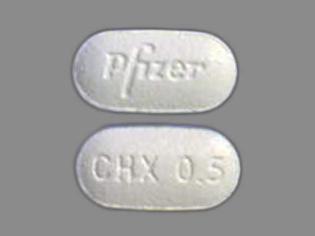 Imprint Pfizer CHX 0.5 - Chantix 0.5 mg