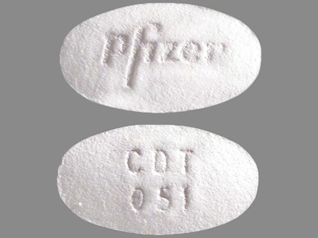 Imprint CDT 051 Pfizer - Caduet 5 mg / 10 mg