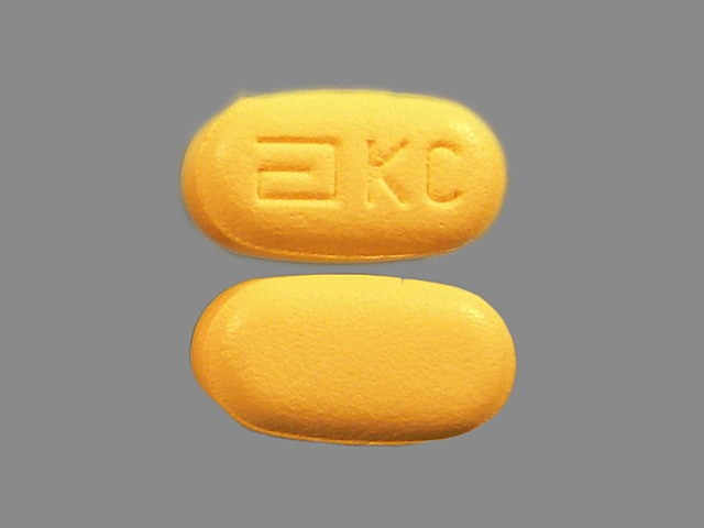 Imprint a KC - Kaletra 100 mg / 25 mg