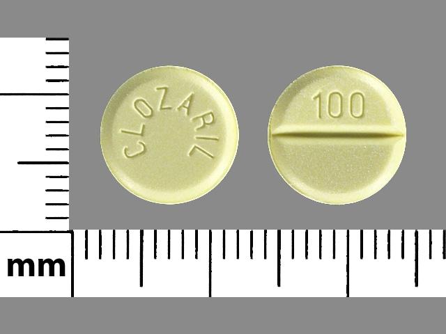 Image 1 - Imprint CLOZARIL 100 - Clozaril 100 mg