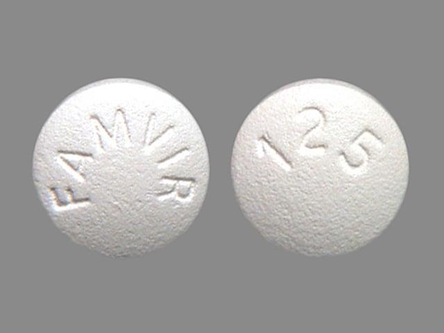 Image 1 - Imprint FAMVIR 125 - Famvir 125 mg