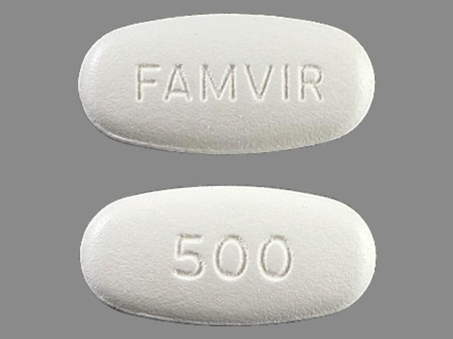 Imprint FAMVIR 500 - Famvir 500 mg