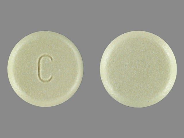 Imprint C - Myfortic 180 mg