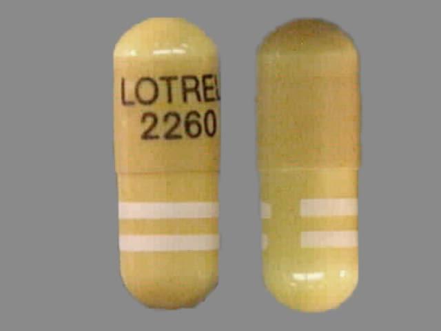 Imprint LOTREL 2260 - Lotrel 5 mg / 10 mg