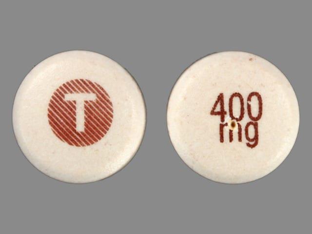 Image 1 - Imprint T 400 mg - Tegretol XR 400 mg