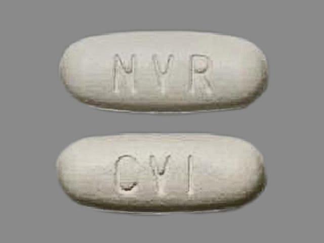 Imprint NVR CVI - Tekturna HCT 300 mg-12.5 mg