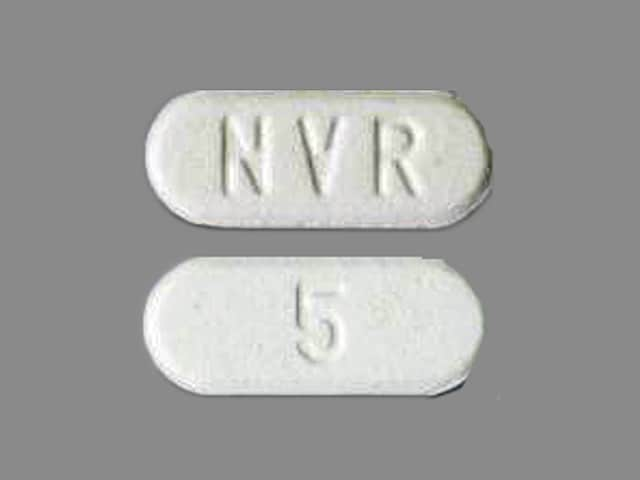 Imprint NVR 5 - Afinitor 5 mg